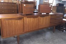 New English Imports has arrived June 2015 / Vintage Furniture including Danish Modern and Mid Century, Teak, English Sideboard Credenza with Danish Modern Styling.
