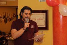Cena sociale Piscinagranata 20/10/2015 / Report fotografico cena sociale del club Piscinagranata con ospiti Gazzi, Benassi, Rampanti e Tony Vigato