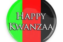 Kwanzaa Buttons / Funny Buttons - Custom Buttons - Promotional Badges - Kwanzaa Pins - Wacky Buttons