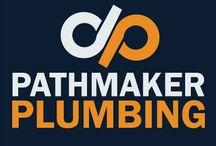 Pathmaker Plumbing / Our logos at Pathmaker Plumbing.