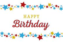 The Happy Birthday message,