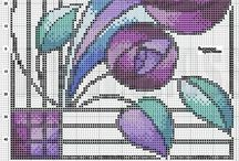 Cross Stitch - Kwiaty