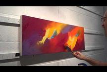 pinturas espatulaa