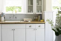 Cottage kitchen floors