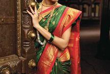 Bride saree
