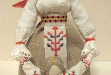 folklorní panenky