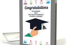 Graduation | Chemistry Cards / Graduation greeting cards for chemistry and chemistry-related majors, such as pharmacy, biochemistry, and chemical engineering.