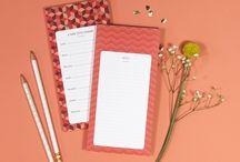 BLOCS MÉMO VACHON / Des blocs de notes ou planning semainiers tellement pratiques !