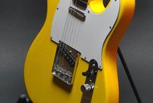 Mesmerizing Guitars / Fender Telecaster and T-Style customs along with fine examples of other traditional shapes and boutique designs. / by ESS