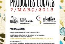 I Foro de Productes Locals /  Gata de Gorgos (Alacant) 7/març/2013. Com promocionar els nostres productes locals. Más información en: http://www.pegonatura.es/