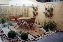 Decoración p/ patios pequeños