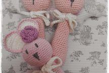 crochet sonajeros
