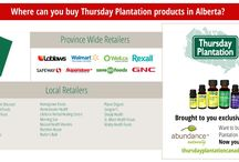 Where to buy Thursday Plantation in Canada / You can buy Thursday Plantation at retailers across Canada or online through Canada's exclusive distributer of Thursday Plantation products, Abundance Naturally.