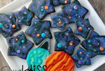 Space stars cosmic cookies