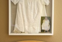 To display the family christening gown