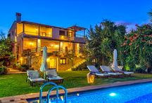 Villa Archontariki #Crete #Greece #Island / Villa Archontariki, on the island of Crete, is situated in the picturesque village of Kalyviani, 35 kilometers from the city of Chania, 5 kilometers from the town of Kasteli and 800 meters from the port of Kasteli. http://www.mygreek-villa.com/rent-villa-search/villa-archontariki