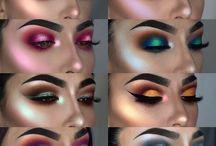 make up oczy