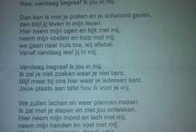 Songtekst/gedicht