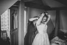 Let's get pretty / Here are some favourite pins of brides I have captured getting ready for the big moment.
