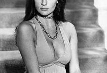 """Jacqueline Bisset ' Actrice """" / Actrice, productrice britannique née en 1944 à Weybridge en Grande Bretagne. De nombreux films comme Bullitt, Les Grands Fonds, Casino Royal, L'empire du Grec."""