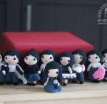 Personalized Amigurumi Wedding Dolls