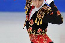 figure skating costume for man
