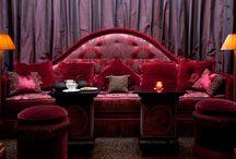 """Hôtel Athénée. Paris. / Après L'Hôtel, et l'hôtel Le Collectionneur, me voici dans """"le plus grand des petits palais"""" c'est Jacques Garcia qui surnomme ainsi l'Athénée. Ce nouvel hôtel parisien. L'atmosphère est terriblement cosy et c'est je crois, la promesse d'un séjour réussi, non?  Ce sont quatre opéras lyriques: Faust, Don Giovanni, Aïda et La Traviata qui ont inspiré la décoration de ce nouvel écrin. / by Hôtels design à Paris (Mes Nuits Design)"""