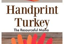 turkey handprint