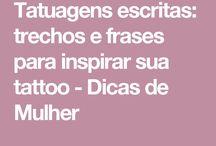 Inspiração p tattoo