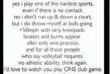 Volleyball / My sport<3