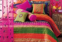 VINTAGE, BOHEMIAN ROOM DECORS / Stylish art room decors