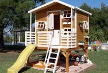 wood house kid