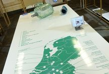 Dutch Design Week / During the Dutch Design Week Crafts Council Nederland showed how the Craftsmap looks offline through the craft of glass. The Craftsmap is a beautifully designed and easy to use geographical map of the Netherlands where you get direct insight into where the specialist craftsmen, workshops, courses and museums are located.
