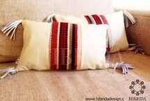 Cojines en lana
