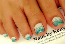 nails piedi