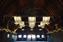 Twin silos barn