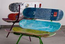 Skateboard Möbel