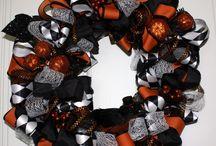 May Arts Ribbon Halloween Craft Projects / Craft projects from the Ribbonista Halloween Blog Hop