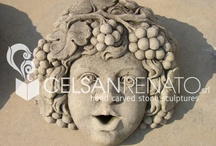 Garden stone ornaments:particular / Execution of stone objects, decorations both classic or modern.