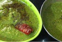Mint and Coriander Chutney - Green Chutney - Pudina malli Chutney | South Indian Samayal Recipes