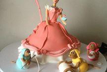 Julia + Elizabeth birthday cake ideas