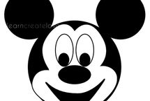 micky mouse / by Britney Willoughby