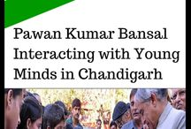 Pawan Bansal / Pawan Bansal is an Indian National Congress Politician & a Former Railway Minister in Manmohan Singh Govt.