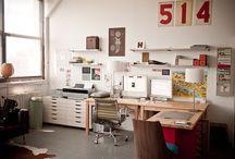 Studio spaces  / Ideas for studio space