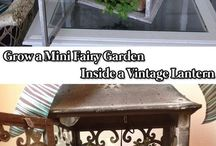 Craft - Fairy gardens / Craft and get inspired by these fairy garden ideas