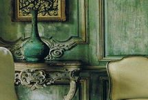 Green Decor / by Chartreuse & co