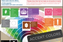 Psychology of Color / Colors effect of behaviors, emotions, and moods. What color works best in what room.