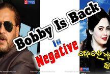 Odia Actor Bobby Mishra