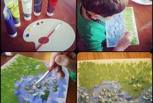 Artist - Claude Monet / by Alicia Buck