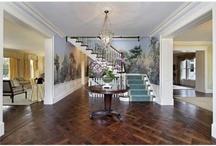 Entryways & Stairways / Extraordinary entryways, foyers & stairwells in homes.